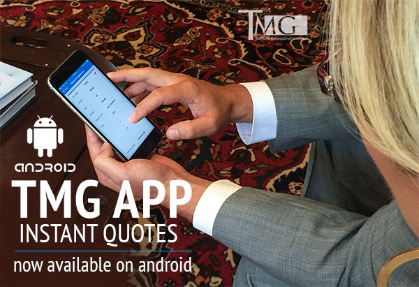 TMG Mobile Quoting Tool